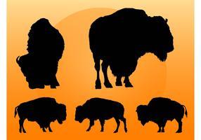 Buffalo Silhouettes