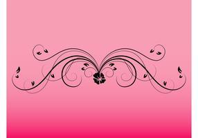 Swirling Flower Image