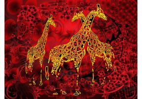 Giraffes Artwork