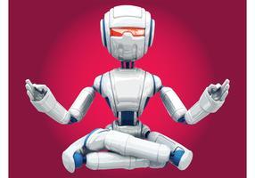 Meditating Robot