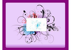 Floral Label Design