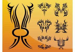 Tribal Tattoos Vectors