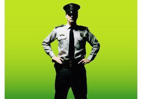 Security Guard Vector