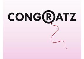 Congratulations Vector