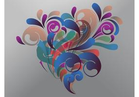 Abstract Bouquet Vector