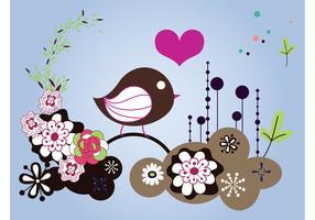 Spring Bird Layout