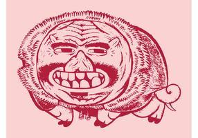 Pig Caricature