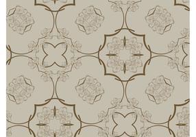 Retro Brown Pattern