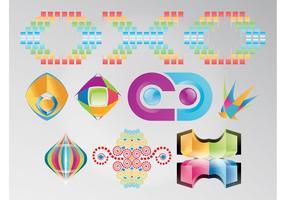 Rainbow Colored Logos