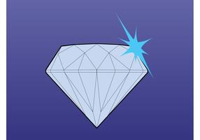Sparkling Diamond Vector