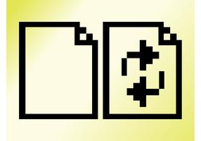 Pixelated File Icons