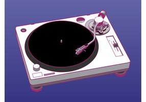 Turntable Vector Graphics