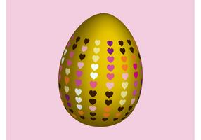 Egg With Hearts