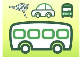 Transportation Vector Graphics