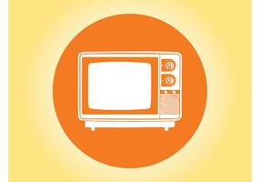 TV Icon Vector