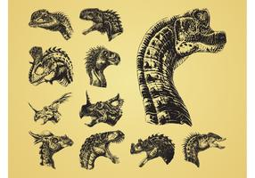 Dinosaur Heads