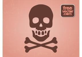 Hazard Skull Symbol