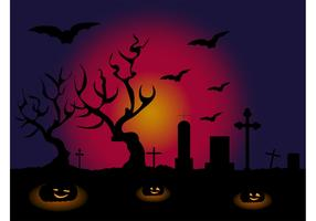 Halloween Vector Wallpaper