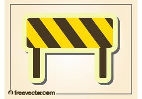 Roadblock Vector