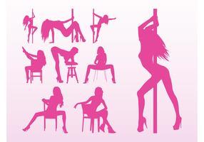 Stripper Girls Vectors