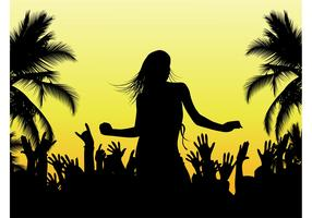 Beach Dance Vector