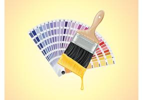Paint Swatches Vector