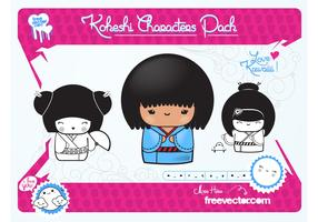 Kawaii Vector Dolls