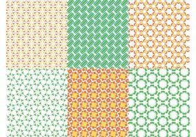Seamless Patterns Vectors