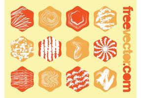 Vector Grunge Badges