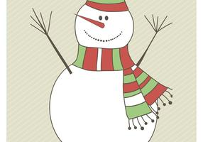 Snowman Vector Graphics