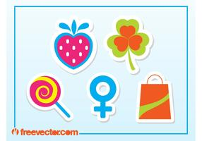 Free Sticker Vectors