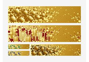 Christmas Banners Vectors
