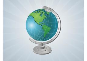 Vektor Globus Gadget