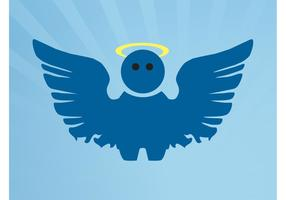 Cartoon Angel Vector