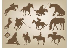 Horses Vectors