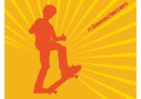 Skater Boy Vector