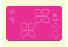 Pink Business Card Design