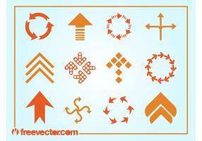 Arrows Logos Vector