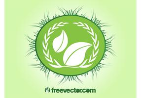 Ecology Badge Vector