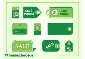 Price Tags Vectors