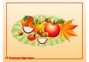 Autumn Food Vector