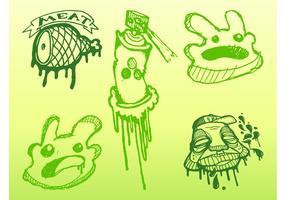 Graffiti Doodles Vector
