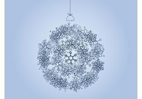 Floral Christmas Ball