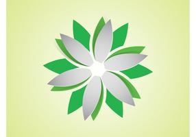 Vector Flower Logo