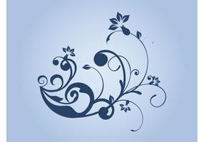Floral Scrolls Vector