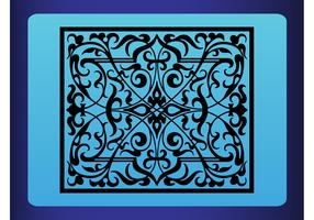 Vector Retro Tile