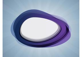 Abstract Ellipse Vector