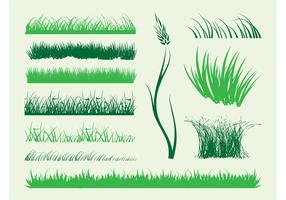 Stems Of Grass Vector