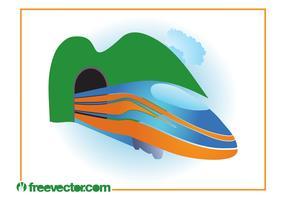 Train Vector Graphics