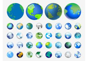 World Vector Icons